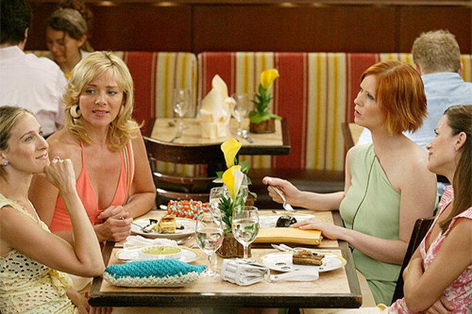 Ein schickes Abendessen sollte auch beim JGA inklusive sein – Foto: HBO Films