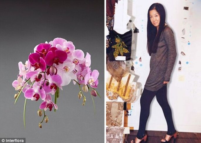Vera Wang diseña coleccion de arreglos florales para bodas - Foto Interflora, Vera Wang Facebook