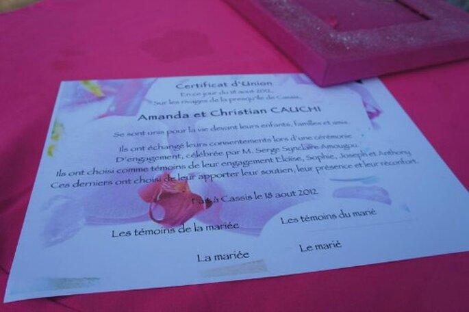 Cérémonie laïque émouvante et colorée - Photo : One Day Event