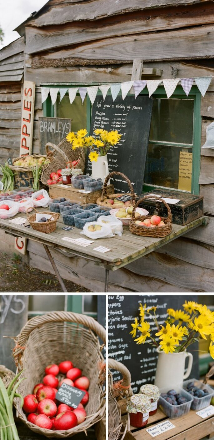 Idées pour décorer votre mariage avec des fruits - Photo Beaux Arts Photographie