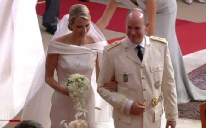 Charlene Wittstock und Fürst Albert II. von Monaco