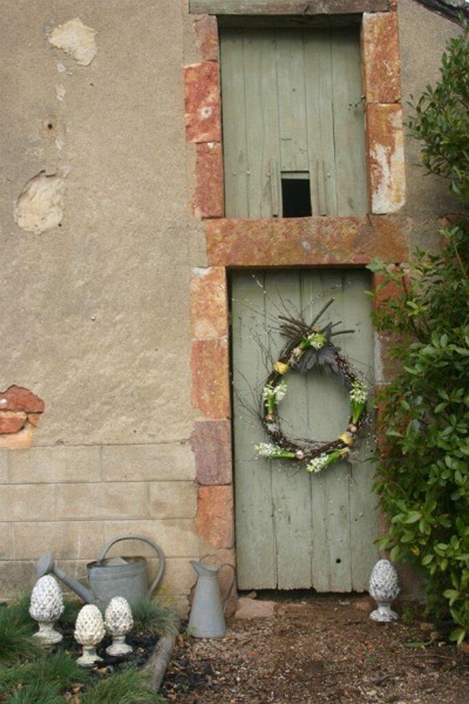 Mariage à Pâques : on mise sur une décoration de circonstance ! - Photo : Mariage Hors Série