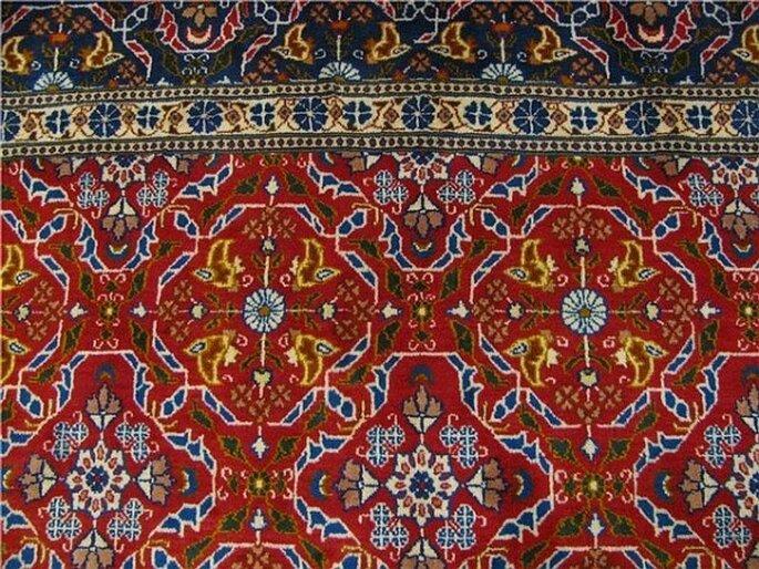Matices étnicos y texturas exquisitas para tu boda - Foto Esale Rugs
