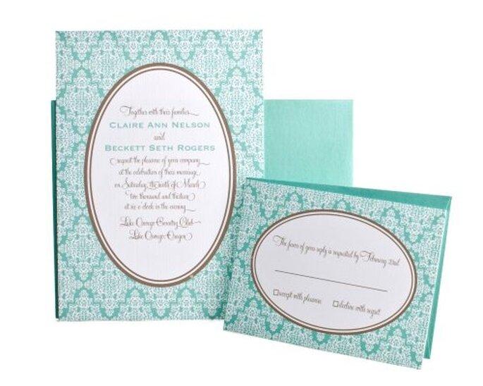 Invitaciones para boda. Foto de Huckleberrygrace.com
