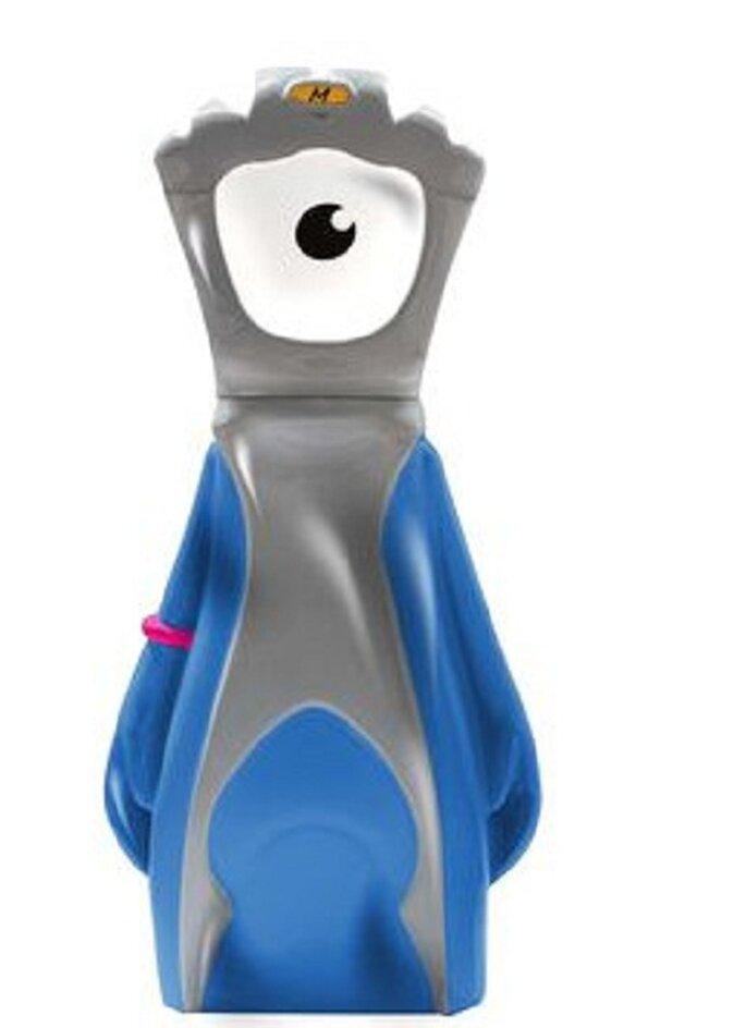 Mandeville mascot bottle. Foto: shop.london2012.com