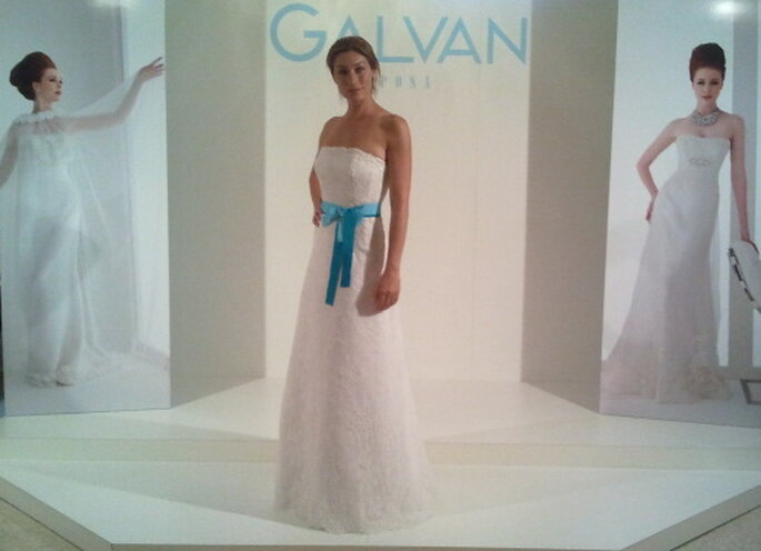 Robe de mariée Galvan 2014. Photo via Spose&Stile