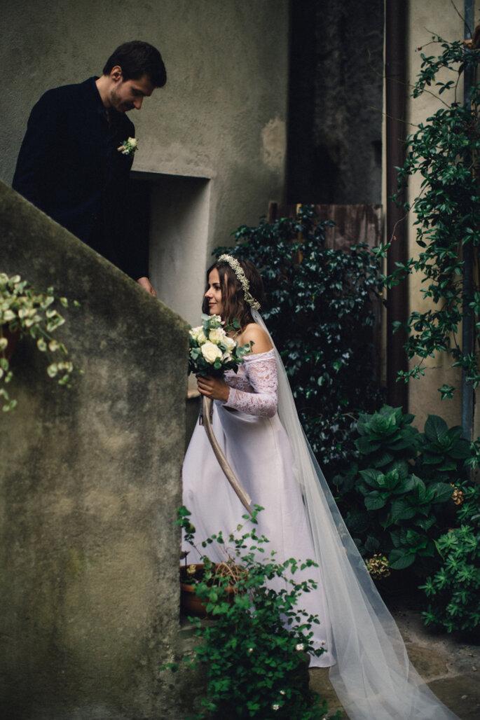 Duepunti Fine Art Wedding Photography via Style Me Pretty