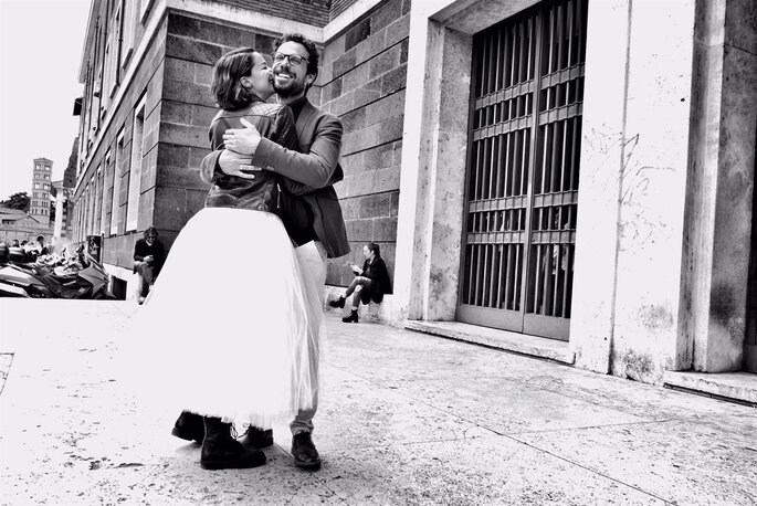 Andrea Delogu e Francesco Montanari - Foto di Alessandro Montanari