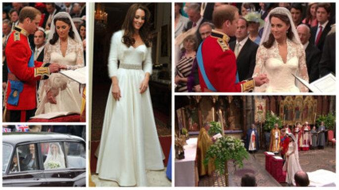 Algunas ideas de la boda de Guillermo y Kate para copiar en tu boda