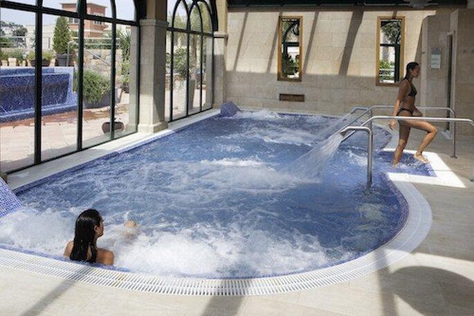 Ontspan in de spa van het hotel - Foto: Marriott