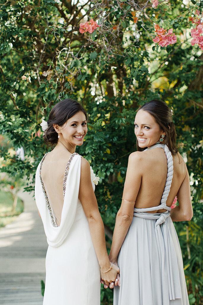 7 cosas que sólo una mejor amiga entiende de tu boda. Foto- Elaine Palladino Photography