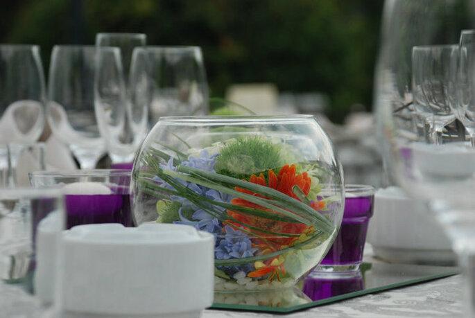 Centros de mesa que puedes hacer tú misma. Foto: www.verdepimienta.com
