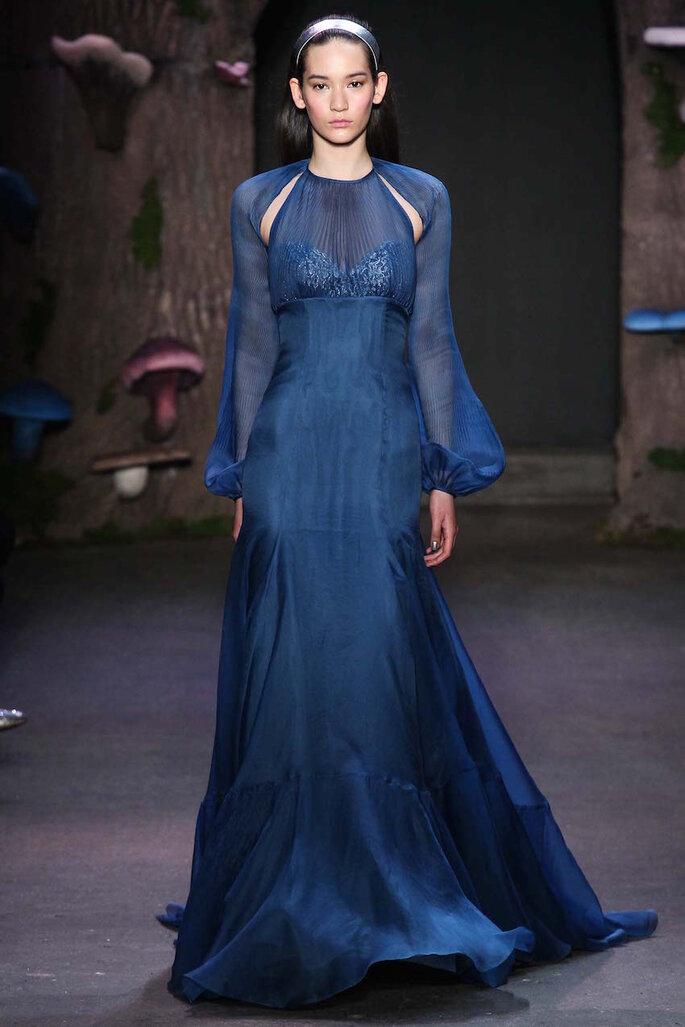 Vestido de fiesta 2015 en color azul marino - Honor NYC Facebook Oficial