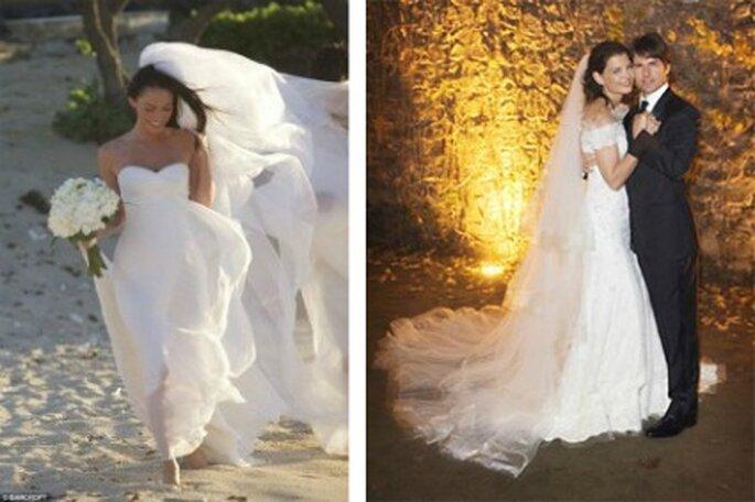 Megan Fox e Katie Holmes hanno scelto Armani per il loro matrimonio