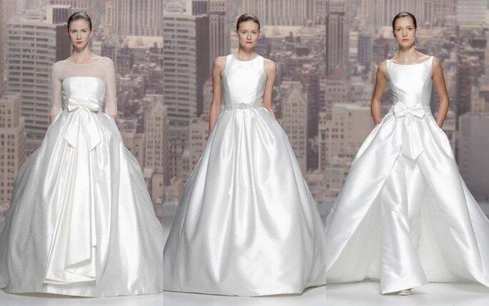 Vestidos de novia Rosa Clará - Colección 2015 Foto: Rosa Clará
