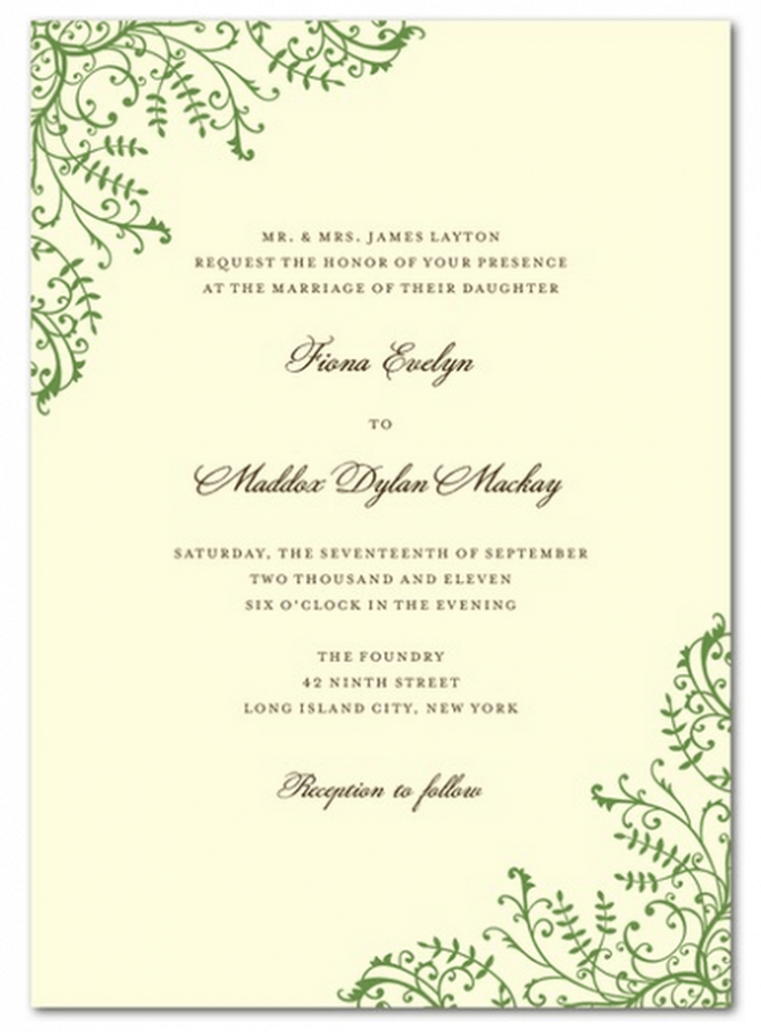 Invitaciones clásicas para boda - Foto Wedding Paper Divas