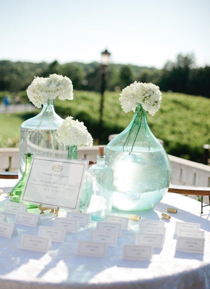 5 ideas innovadoras para decorar tu boda. Foto- Amelia Johnson Photography