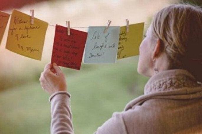 Los que prefieran pueden dejar un mensaje. Foto: Organiser un mariage