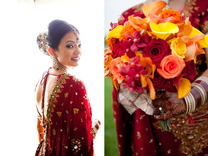 Detalles étnicos en el entorno de tu boda - Foto Craig Paulson Photography