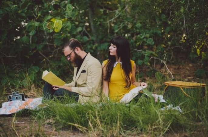 Picnic à la campagne inspiré par le cinéma et les livres - Photo Alyssa Shrock