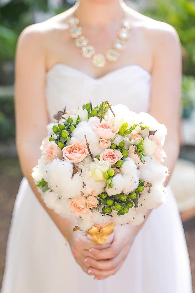 Un ramo de novia perfecto para magnificar tu estilo - Foto Claudette Montero