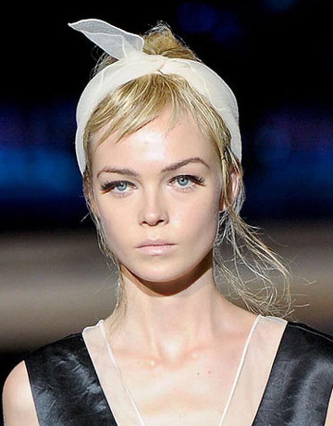 Ancora, una modella di Marc Jacobs con ciglia finte. Il risultato? Uno sguardo super intenso. Foto: Divulgação