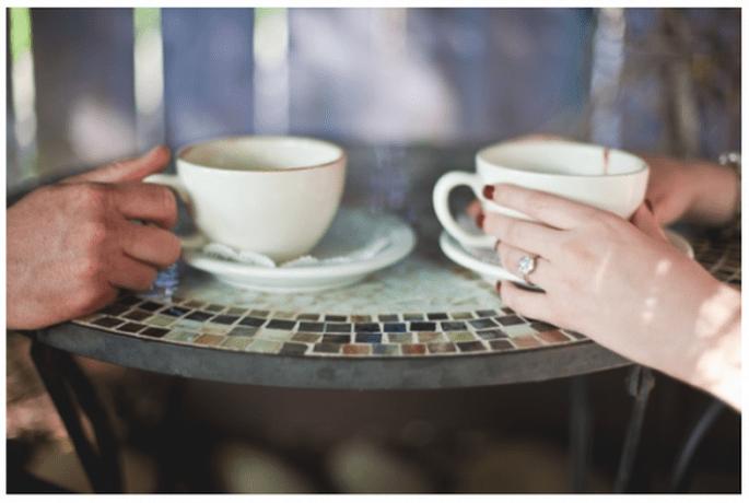 Session de photos pré-mariage inspirée par le café - Photo Driver Photo