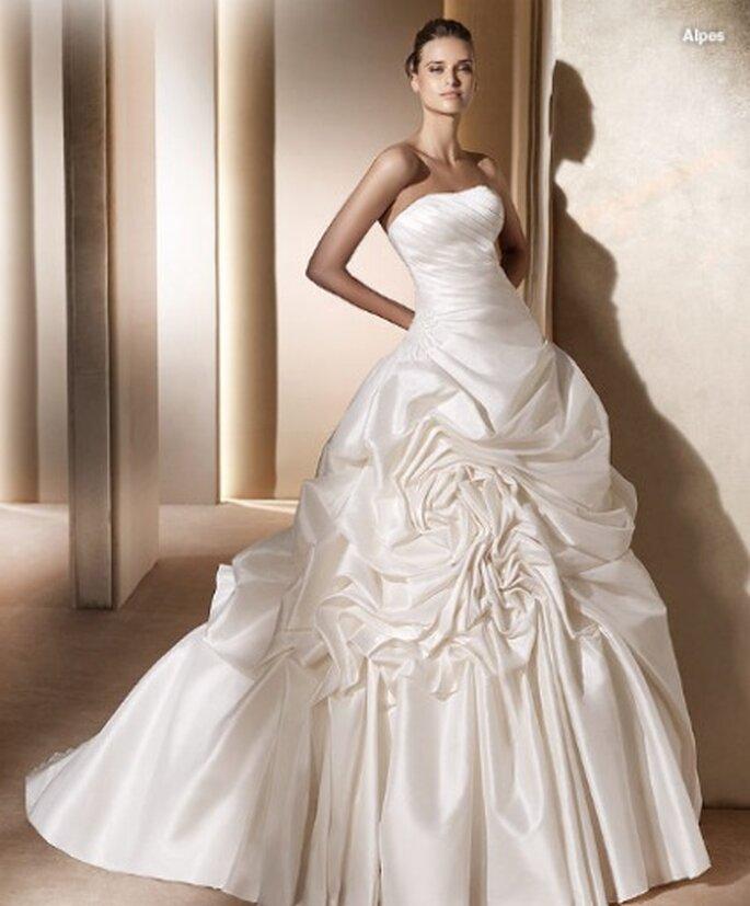 Robe de mariée Pronovias 2011 - Modèle Alpes