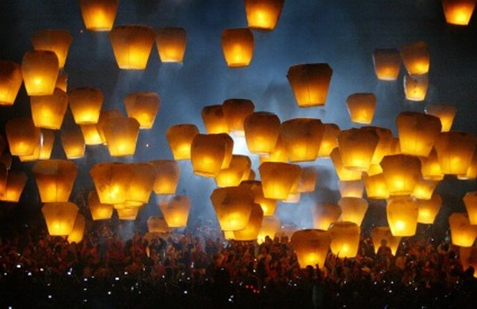 Lanternes volantes - 1001lanternes.fr