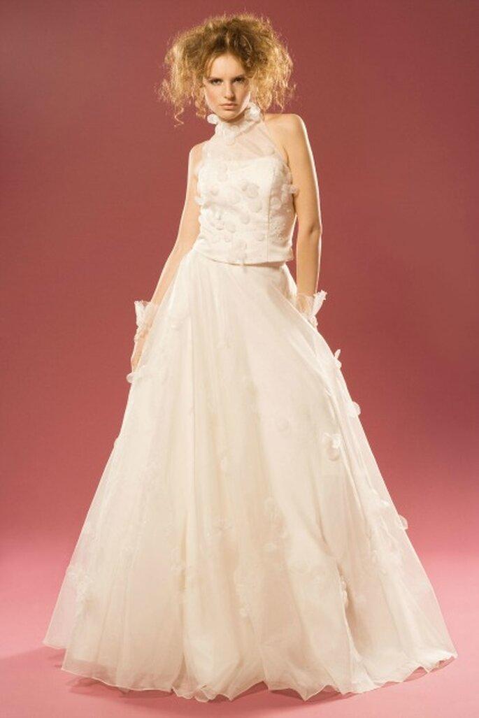 Robe de mariée sur mesure Aurélie Cherell - modèle Jasmin