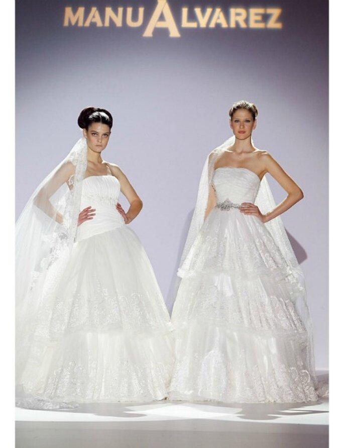Hochzeitskleider von Manu Alvarez Kollektion 2012