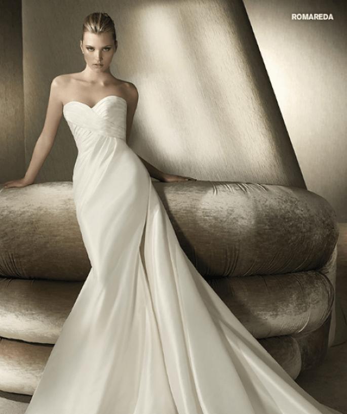 Vestido de novia Romareda, St. Patrick 2012