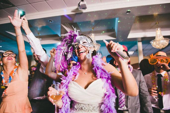5 ideas para sorprender a tus invitados en la hora loca. Foto: Brita Photography