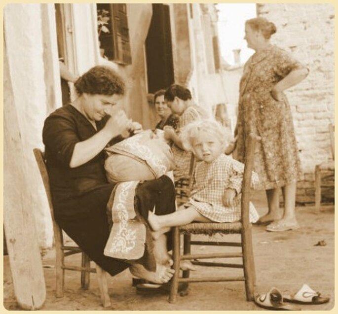 Merlettaia di Burano