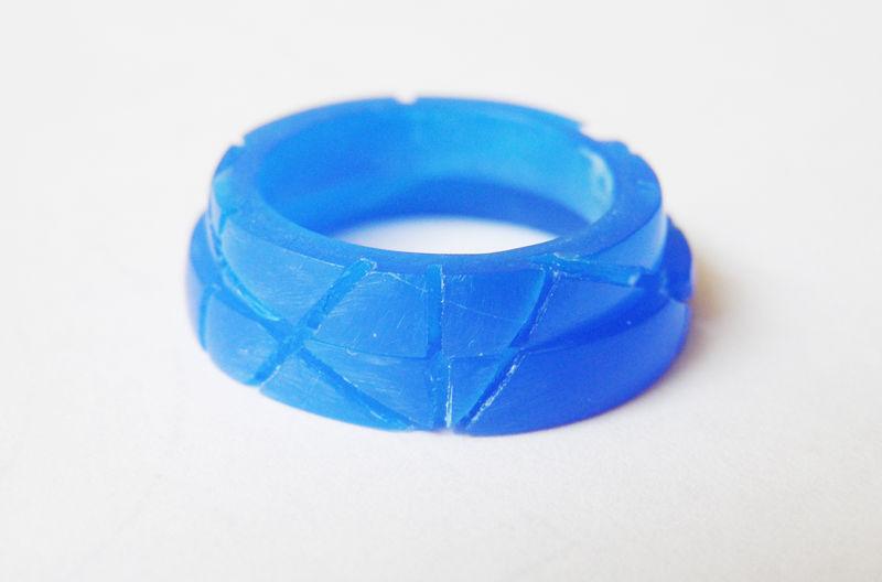 MIOeTUO - stampo degli anelli in cera