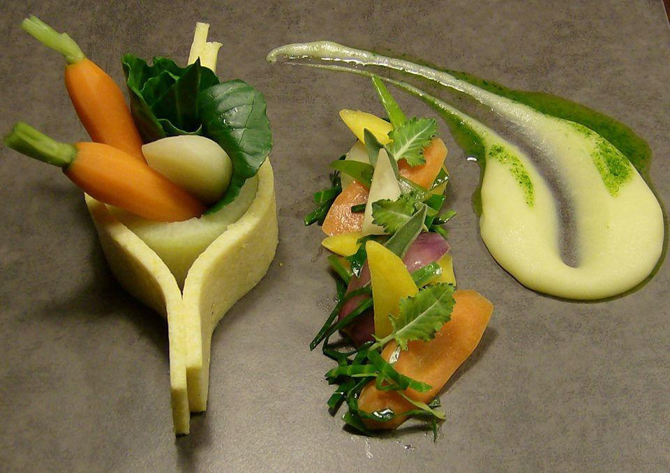 Beispiel: Kulinarische Kunst, Foto: Fest & Gast Catering.