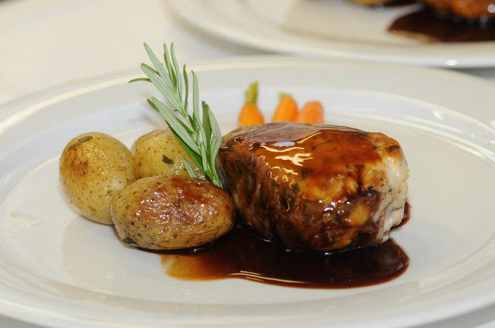 Beispiel: Herzhafte Gerichte, Foto: Hotel Moosburger Hof.