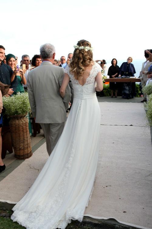 Magali Vieira Alta Costura. Noiva: Marcella Alho. Foto: Daniel Benassi