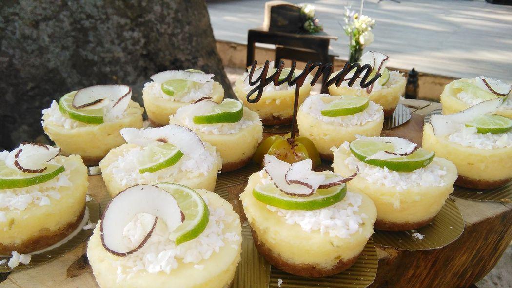 Cheesecake de Limon y Coco