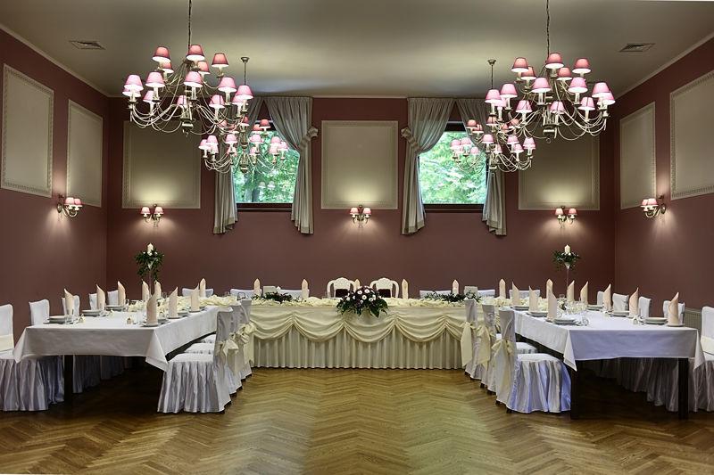 Przygotowany catering na ceremonię