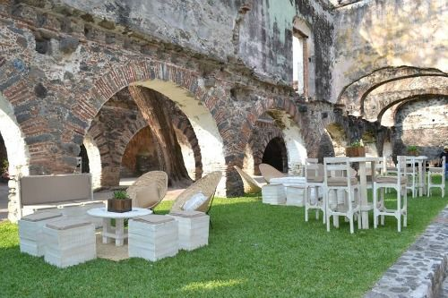 Hacienda san gaspar bodas for Jardin villa san gaspar