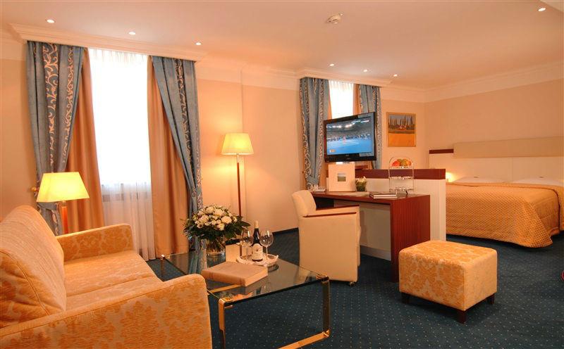 Beispiel: Zimmer, Foto: Kaiserhof Münster.