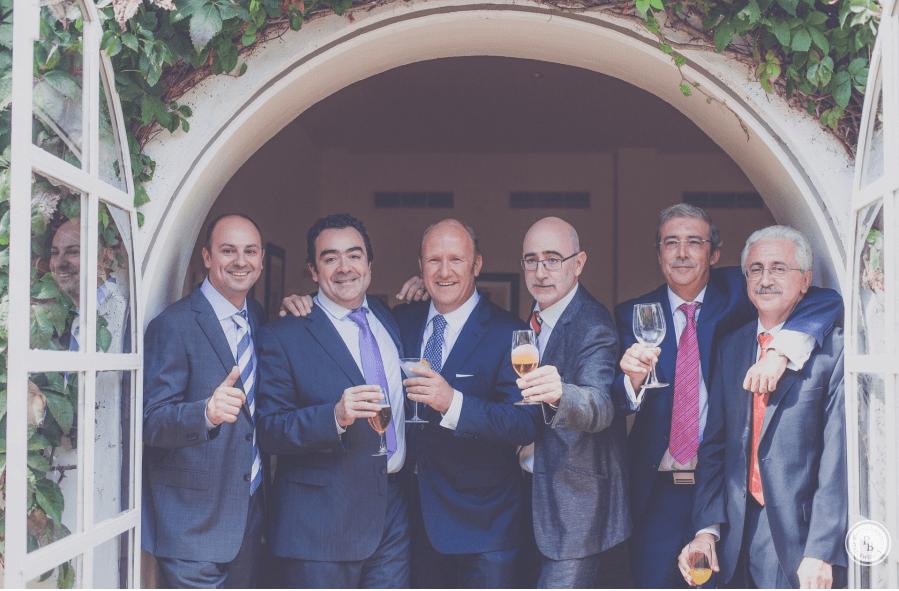 Fotos de primos, en la boda de Angeles y Quique.