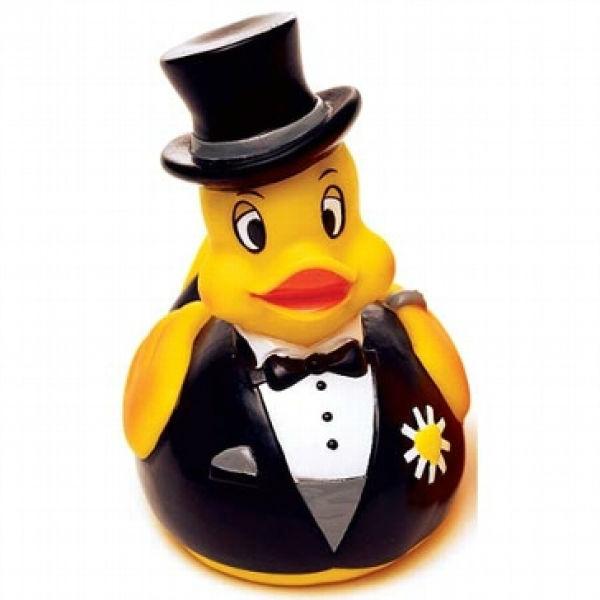 Beispiel: Ente Bräutigam, Foto: Hochzeitsgaudi.