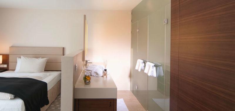 Beispiel: Zimmer, Foto: See Hotel.