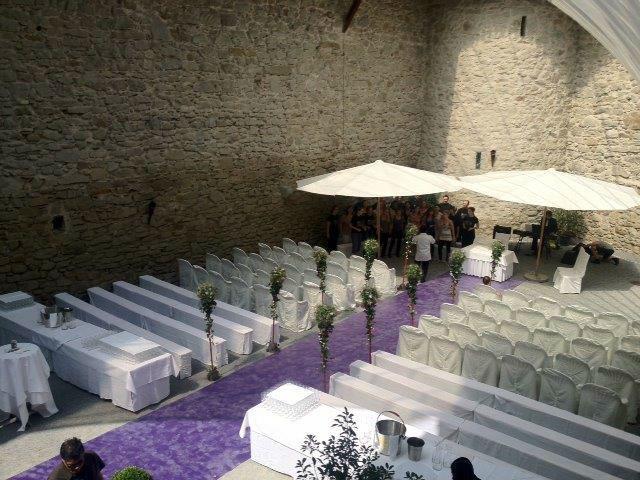 Beispiel: Zeremonie, Foto: Schloss Rapperswil.