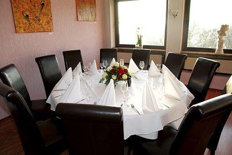Beispiel: Hochzeitsgedeck, Foto: La Villa Henkenberg.