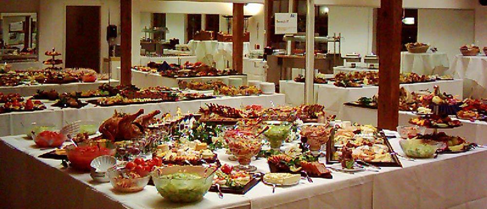 Beispiel: Buffet, Foto: Ankerhof Hotel.