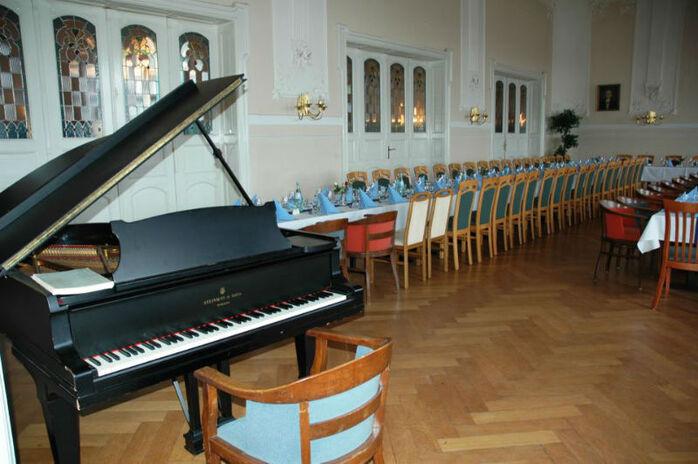 Beispiel: Mozartsaal, Foto: Logenhaus Flensburg.