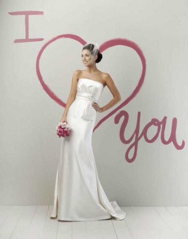 Beispiel: Hochzeitskleider, Foto: La Diva Brautmoden.